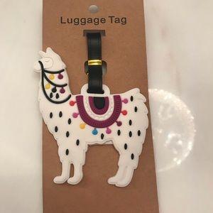 Bnwt Luggage Tag